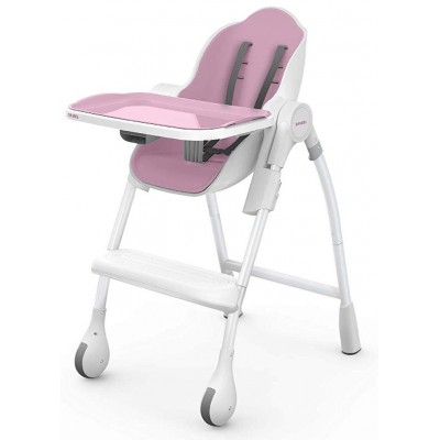 Oribel Cocoon High Chair - Chaise Rose Meringue