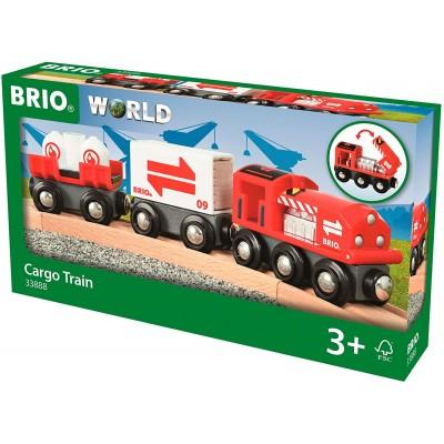 BRIO Train citerne avec chargement