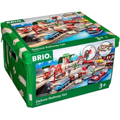 BRIO Circuit chemin de fer Deluxe
