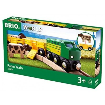 BRIO Animal farm train