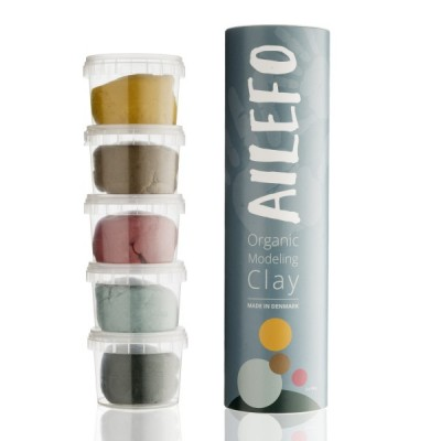 Ailefo Organic Modelling Clay, Classic Small Tube